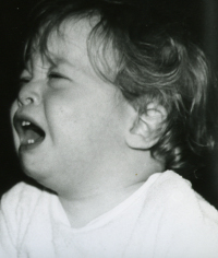 Chris Crying As A Baby